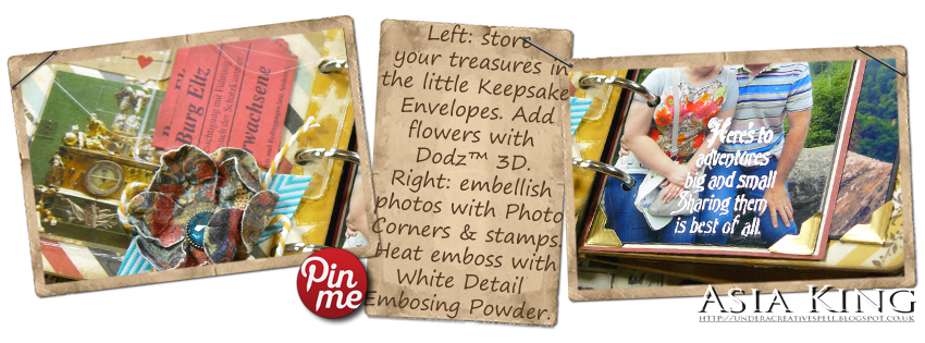 Stampendous and Scrapbook Adhesives by 3L tutorial