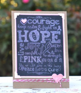 Beth PIngry Hope Card